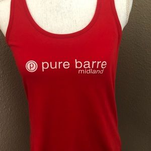 Pure Barre racer back tank. Midland, Texas. Medium